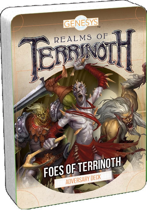 Genesys: Realms of Terrinoth Foes of Terrinoth