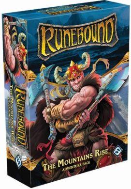 Runebound (Third Edition): The Mountains Rise Adventure Pack