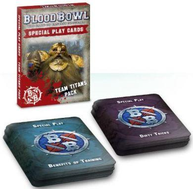 Blood Bowl: Team Titans Special Play Card Pack