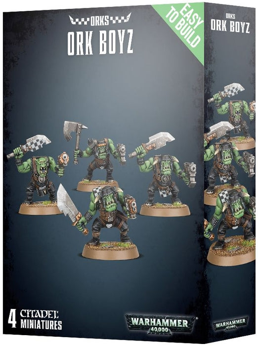 Warhammer 40K Orks: Easy To Build Ork Boyz