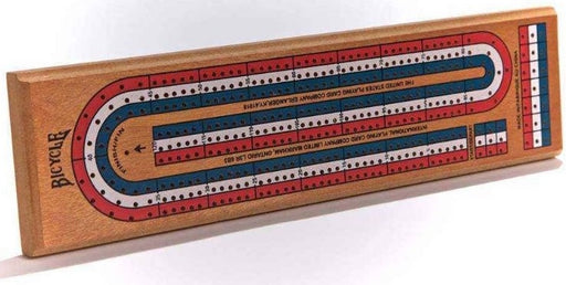 Bicycle Playing Cards - Cribbage Board 3-Track