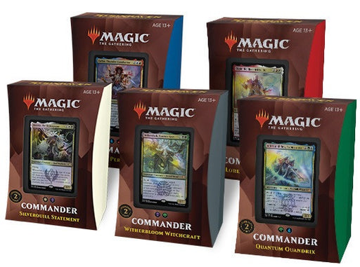 Magic the Gathering Strixhaven School of Mages Commander Deck Set of 5 Pre Order
