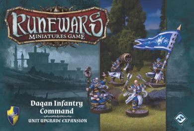 Runewars Miniatures Game: Daqan Infantry Command  Unit Upgrade Expansion ON SALE