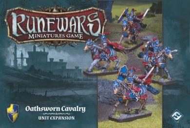 Runewars Miniatures Game: Oathsworn Cavalry  Unit Expansion ON SALE