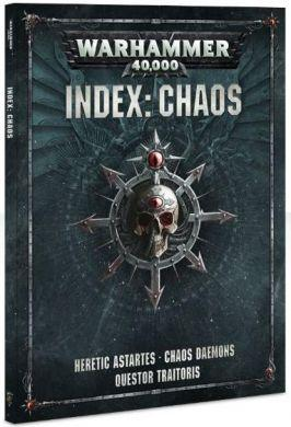 Warhammer 40,000 Index: Chaos ON SALE