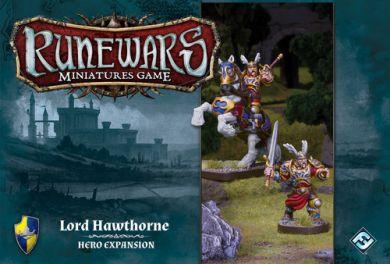 Runewars Miniatures Game: Lord Hawthorne  Hero Expansion ON SALE