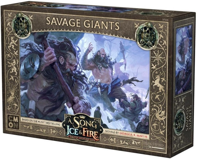 A Song of Ice and Fire TMG Savage Giants