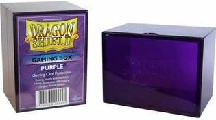 Dragon Shield Purple Card Box