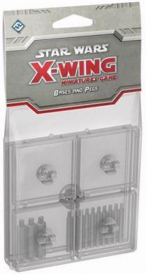 Star Wars: X-Wing Clear Bases & Pegs