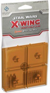 Star Wars: X-Wing Orange Bases & Pegs