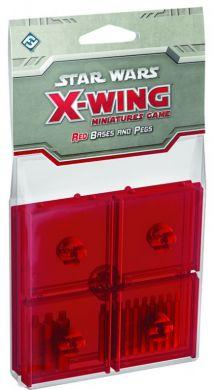 Star Wars: X-Wing Red Bases & Pegs