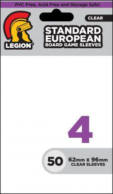 Board Game Sleeve 4: Standard European Card Sleeves (50)