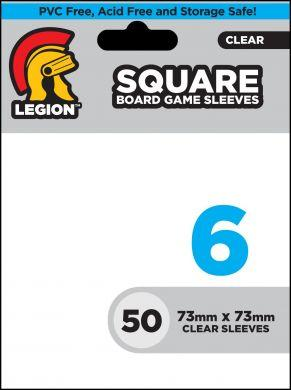 Board Game Sleeve 6: Square Card Sleeves (50)