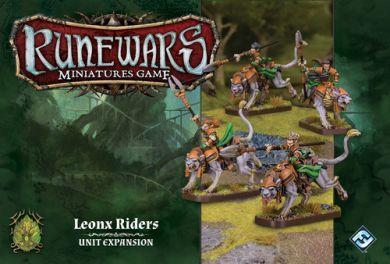 Runewars Miniatures Game: Leonx Riders  Unit Expansion