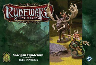Runewars Miniatures Game: Maegan Cyndewin Hero Expansion