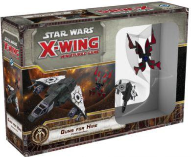 Star Wars: X-Wing Miniatures Game  Guns for Hire Expansion Pack