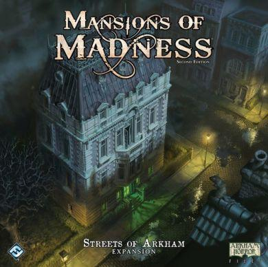 Mansions of Madness: Second Edition  Streets of Arkham