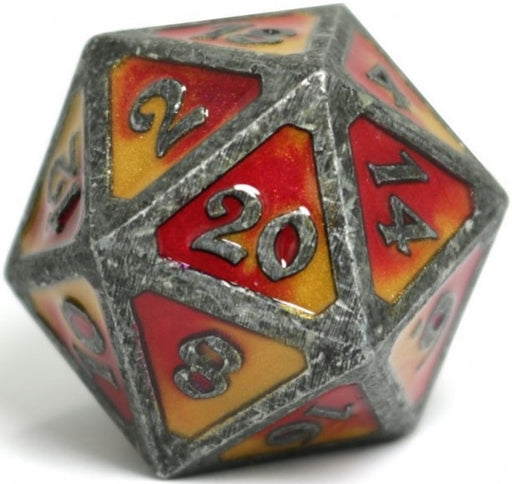 D20 Dire Die Hard Dice - Spellbinder Brimstone (Single)