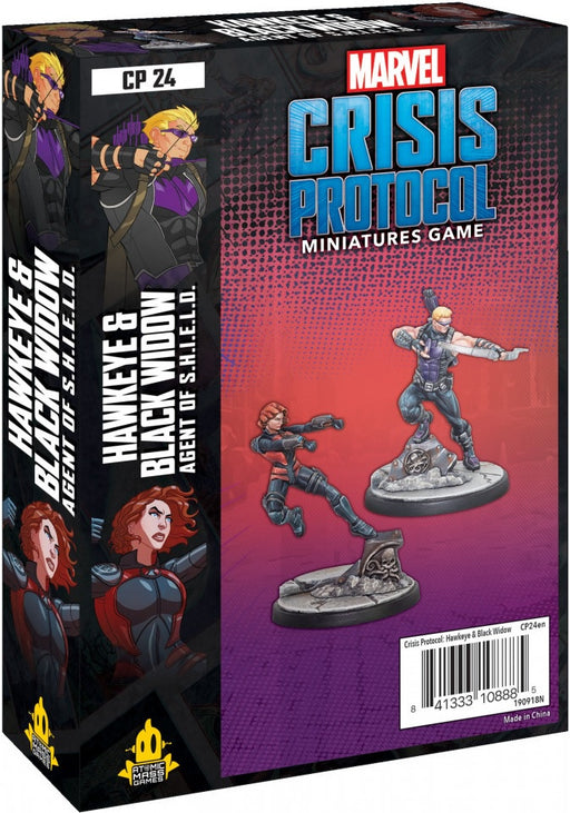 Marvel Crisis Protocol Hawkeye and Black Widow Character Pack