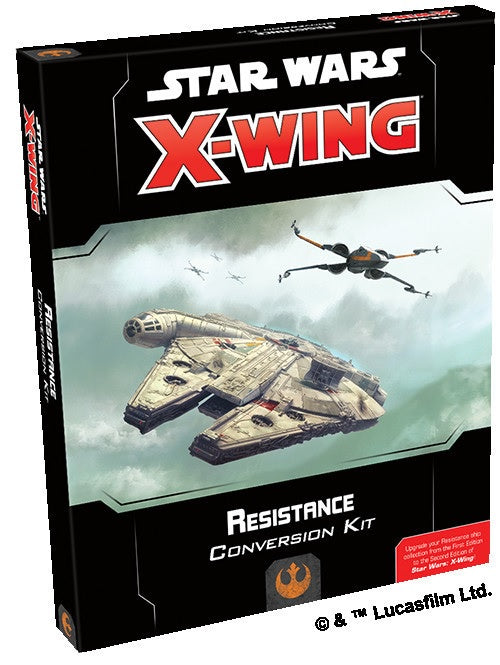 Star Wars X-Wing Resistance Conversion Kit 2nd Edition Pre-Order