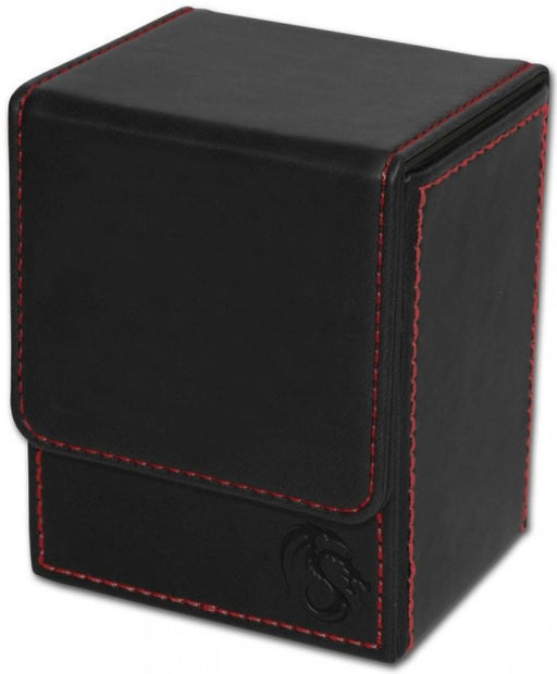 BCW Deck Case Box LX Black (Holds 80 cards)