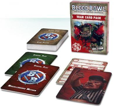 Blood Bowl: Team Card Pack  Orc Team