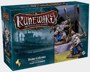Runewars Miniatures Game: Rune Golems Unit Exp ON SALE