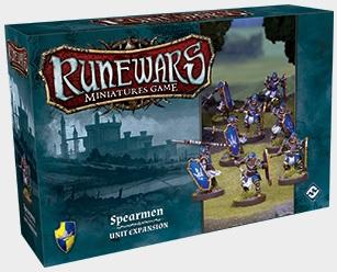 Runewars Miniatures Game: Spearmen Unit Exp