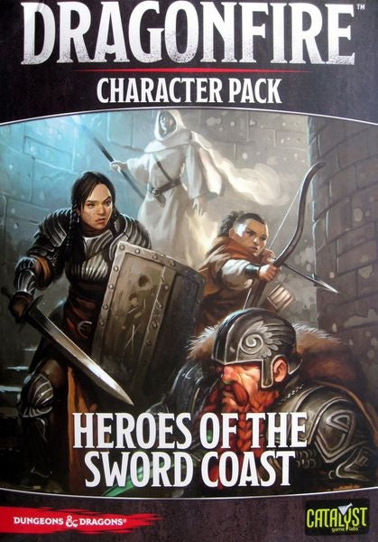 Dungeons & Dragons DragonFire Character Pack – Heroes of the Sword Coast
