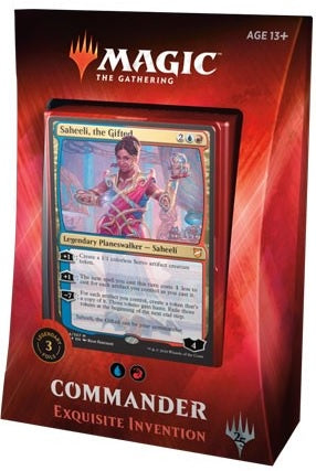 Magic the Gathering: Commander 2018 Exquisite Invention