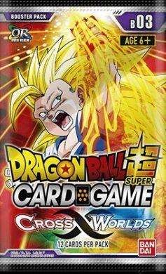 Dragon Ball Super Card Game Booster 03 Cross Worlds