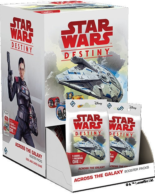 Star Wars Destiny Across the Galaxy Booster Box