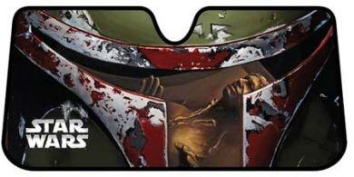 Star Wars Boba Fett Accordion Car Sunshade