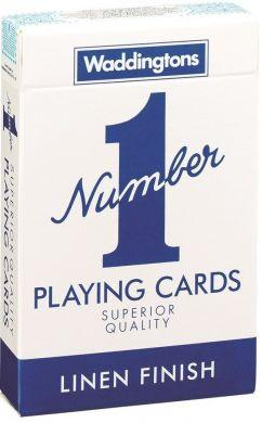 Number 1 Blue & Red Playing Cards