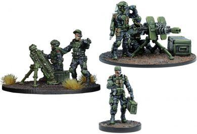 Warpath GCPS Anti-Infantry Weapons Teams