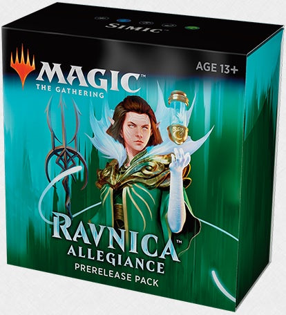 Magic the Gathering: Ravnica Allegiance Pre Release Pack - Simic