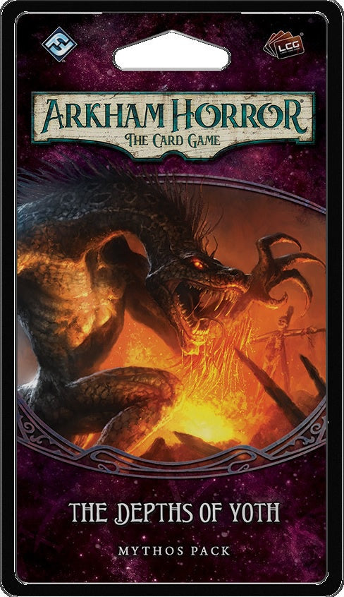 Arkham Horror: The Card Game The Depths of Yoth Mythos Pack