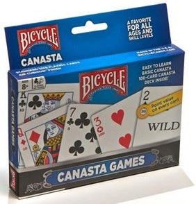 Bicycle Playing Cards - Canasta Deck