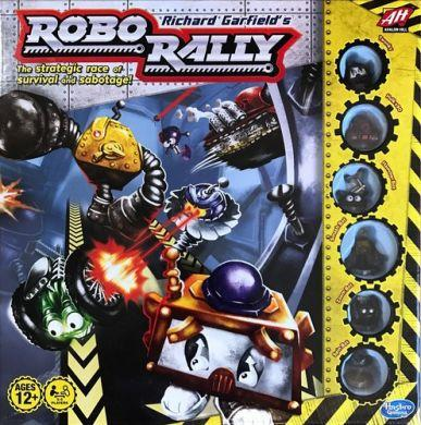 Robo Rally Board Game 2016