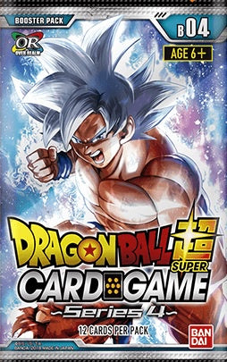 Dragon Ball Super Card Game Booster 04 Colossal Warfare Booster