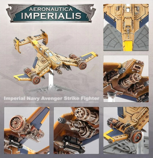 Aeronautica Imperialis Imperial Navy Avenger Strike Fighters