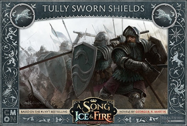 A Song of Ice and Fire TMG  Tully Sworn Shields Pre-Order