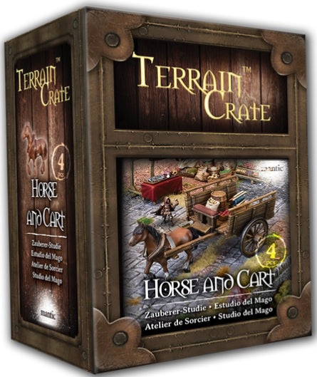 Terrain Crate Horse & Cart (2020 Version)