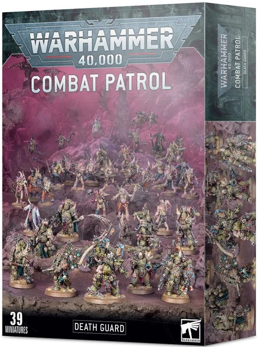 Warhammer 40K Chaos Marines: Death Guard Combat Patrol Death Guard