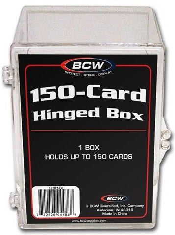 BCW Hinged Box 150 Count