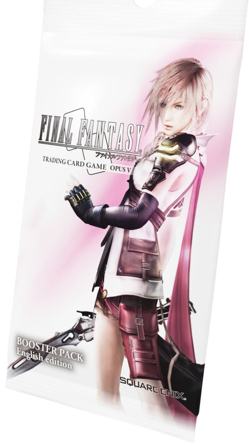 Final Fantasy Trading Card Game Opus V Booster