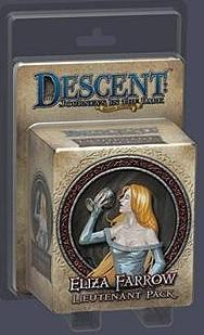 Descent: Journeys in the Dark (Second Edition) - Lieutenant Pack Eliza Farrow
