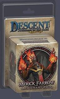 Descent: Journeys in the Dark (Second Edition) - Lieutenant Pack Merick Farrow