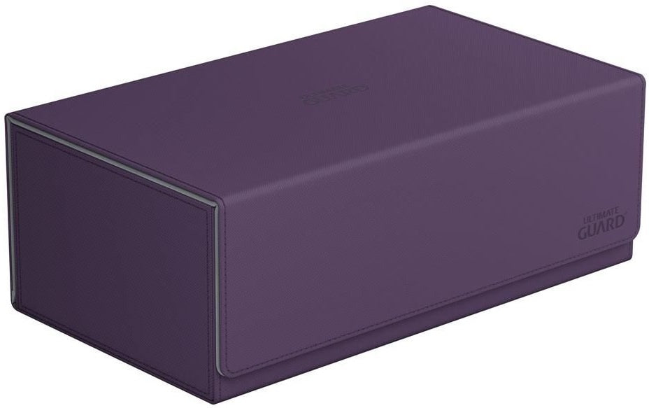 Ultimate Guard Arkhive Flip Case 800+ Standard Size XenoSkin Purple Deck Box