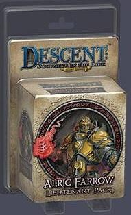 Descent: Journeys in the Dark (Second Edition) - Lieutenant Pack Alric Farrow